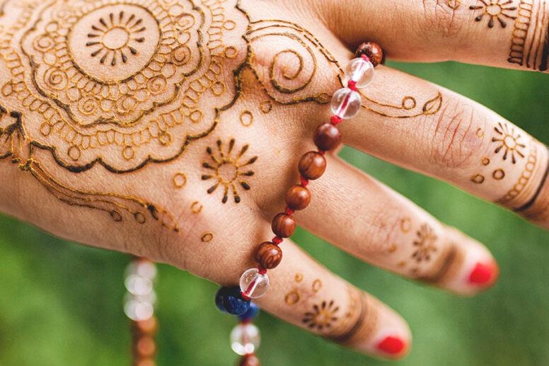 Henna Hand Mala